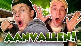 VILLA MANSION AANVALLEN! - Minecraft Survival #139