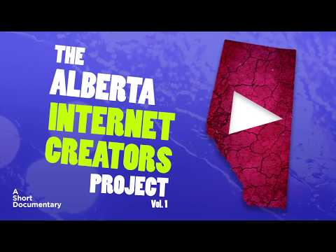 The Alberta Internet Creators Project - Storyhive Pitch