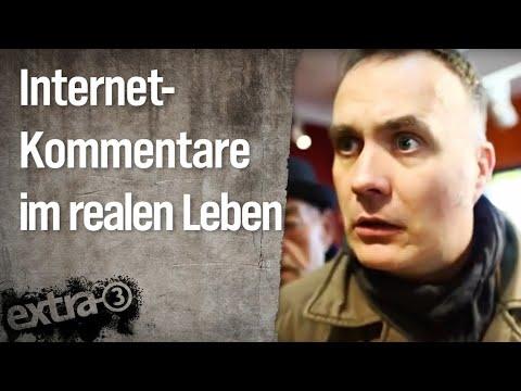 Internet-Kommentare im realen Leben | extra 3 | NDR