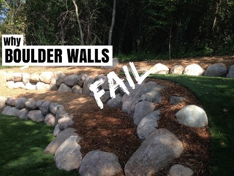 Why Boulder Retaining Walls Fail