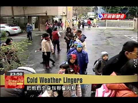 Cold spell brings low temperatures, snow