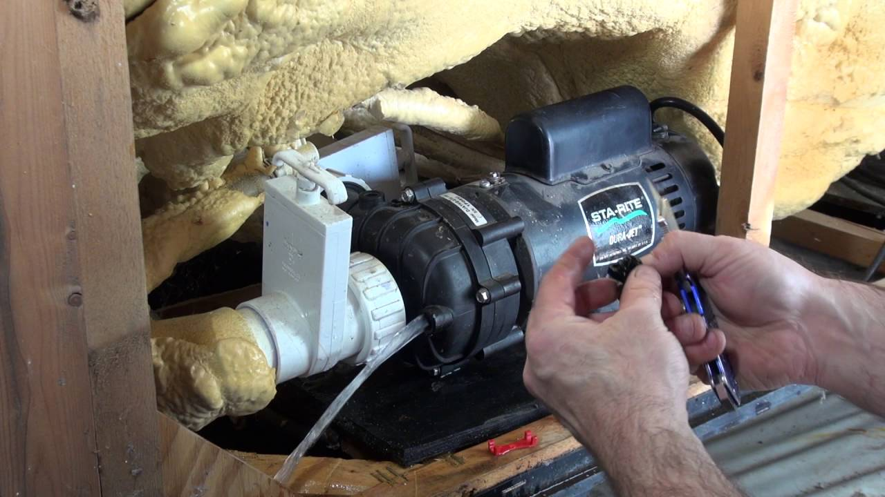 Pump Wet End Bleeder Plug Leaking How To Repair Spa Guy