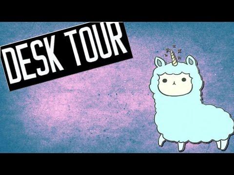 DESK TOUR + Mini Chat/update