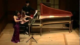 Maia Cabeza, violin - Biber: Sonata Representativa