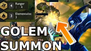 ELEMENTALIST + RANGER PERFECT SYNERGY BUILD - Teamfight Tactics Best Strategy Guide lol tft