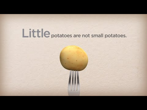 What is a Creamer potato?