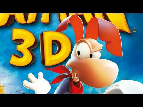 CGRundertow - RAYMAN 3D For Nintendo 3DS Video Game Review