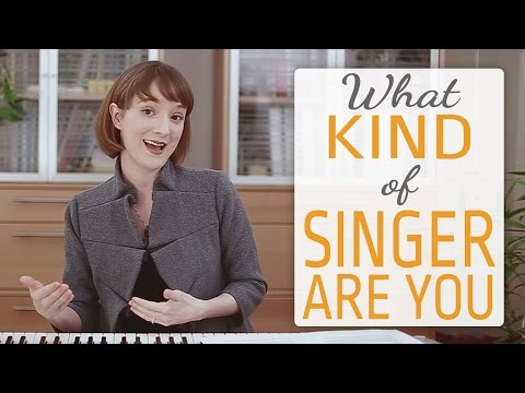 What kind of singer are you?   4 Categories of Singers