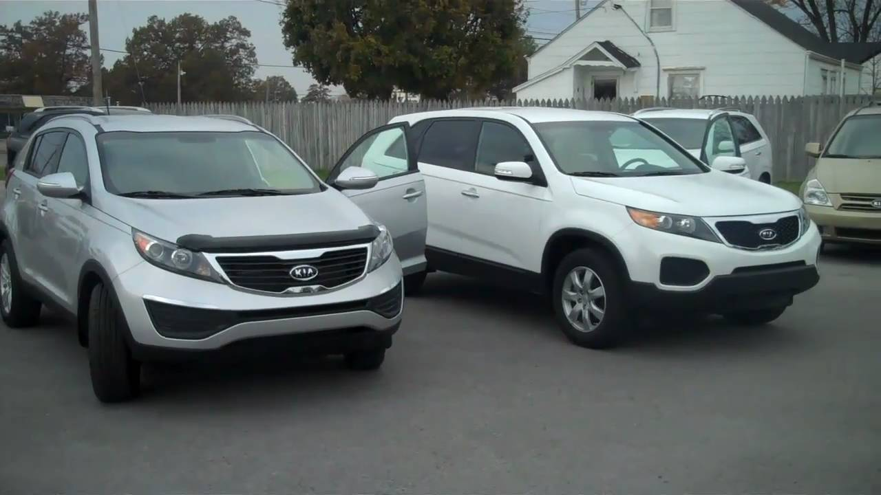2011 kia sorento and 2011 kia sportage walk aruond for tn. Black Bedroom Furniture Sets. Home Design Ideas