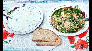 Как приготовить окрошку - Холодный суп окрошка рецепт