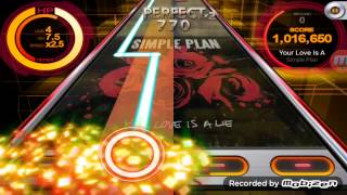 Your love is al lie simple plan(beat mp3)