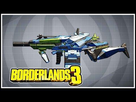 Phebert Borderlands 3 Legendary Showcase