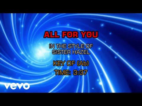 Sister Hazel - All For You (Karaoke)
