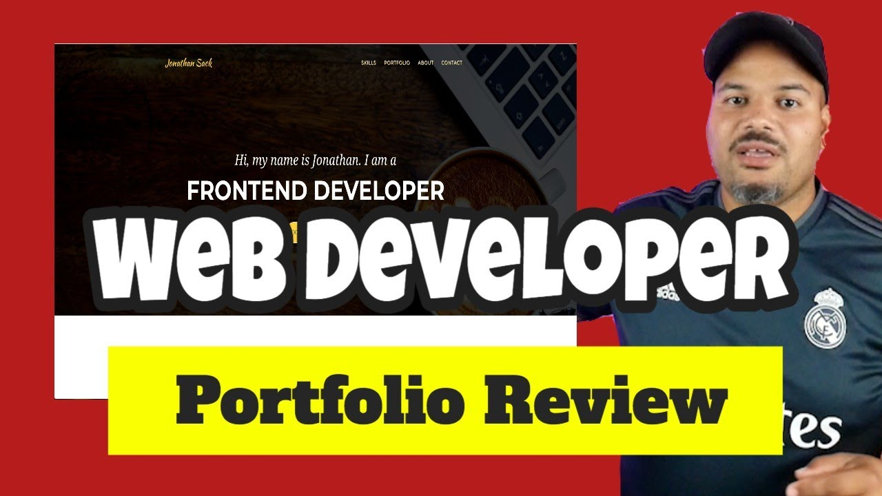 Web Developer Portfolio review