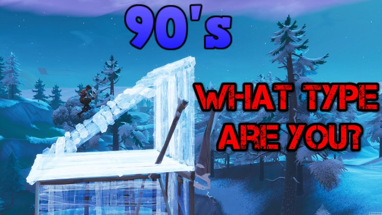 What Type of 90's Do YOU Do? - Fortnite - YouTube