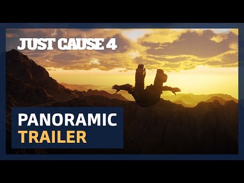 Just Cause 4: Panoramic trailer [4K UltraWide][ESRB]