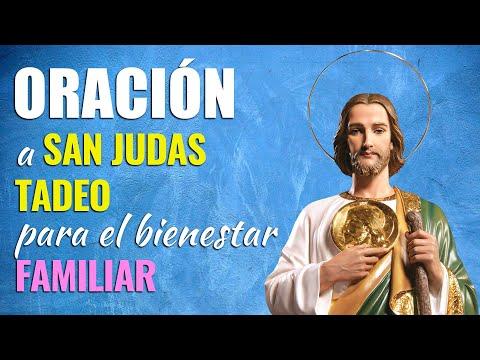 🙏 Oración a San Judas Tadeo para Pedirle PROSPERIDAD Y BIENESTAR FAMILIAR 👨👩👧👦