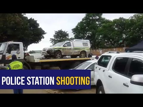 WATCH: Scenes outside Ngcobo police station where 5 cops, soldier killed