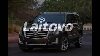 Laitovo car sunshades Installation Cadillac Escalade 4 SUV 5 (2015 - 2017)