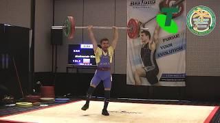2017 Australian & Oceania Masters Weightlifting Championships. CLEAN & JERK. Kharitonov.