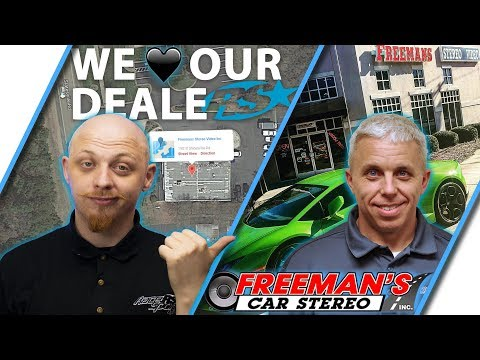 We ♥ Our Dealers With Freeman's Car Stereo Talking Automotive LED Lighting - Race Sport Lighting