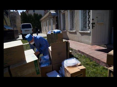 Телеканал ІНТБ: У Монастириську лікарню передали захисні костюми та маски