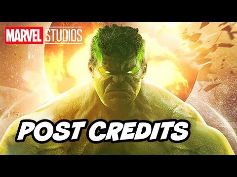 Avengers Endgame Post Credit Scene - Hulk Scene Re Release Breakdown