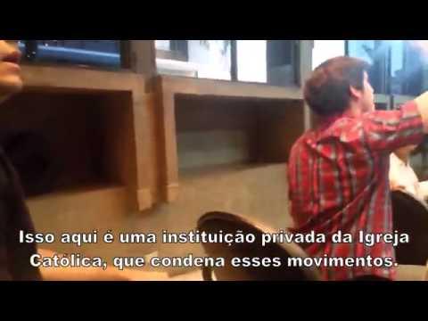 SENSACIONAL! Estudante desmascara palestrantes petistas na PUC de Goiás