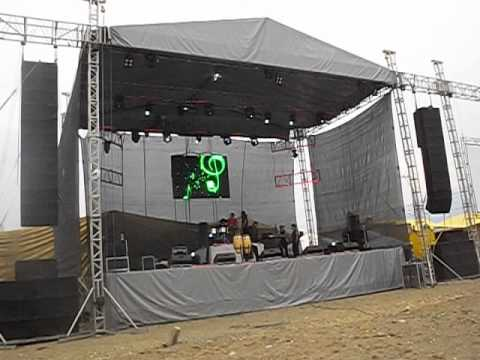 Renta De Escenario Para Grupos Musicales Youtube