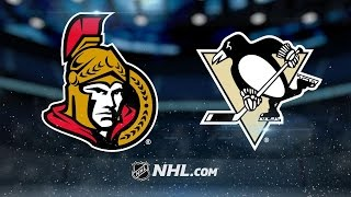 Crosby's hat trick powers Penguins by Senators