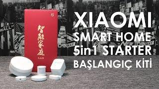 Xiaomi 5in1 Akıllı Ev Güvenlik Kiti - Smart Home Security Starter Kit - Setup Unboxing