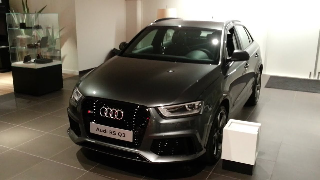 audi rs q3 2015 in depth review interior exterior youtube. Black Bedroom Furniture Sets. Home Design Ideas
