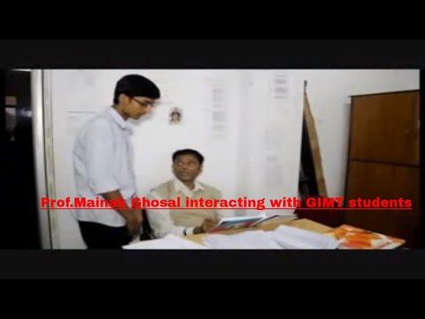 (Prof.)Mainak Ghosal at Global Institute of Management & Technology,Krishnanagar