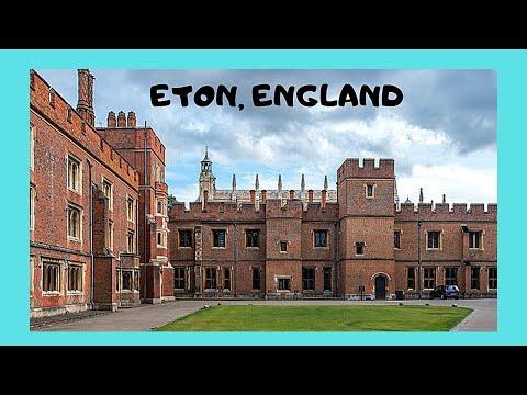 A tour of historic Eton, England