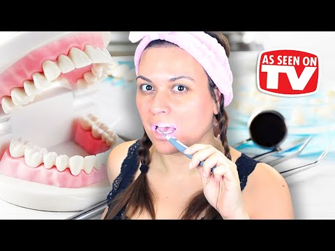 Sonic Pic Dental Cleaning System Review | Testing As Seen On TV Products