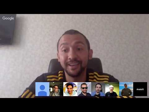 English Google Webmaster Central office-hours hangout