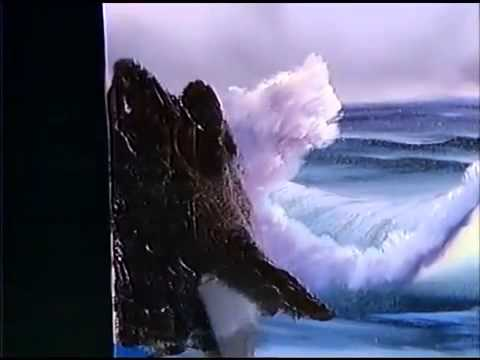 Bob Ross - Malerei Könige der Wellen - Malerei Video - YouTube