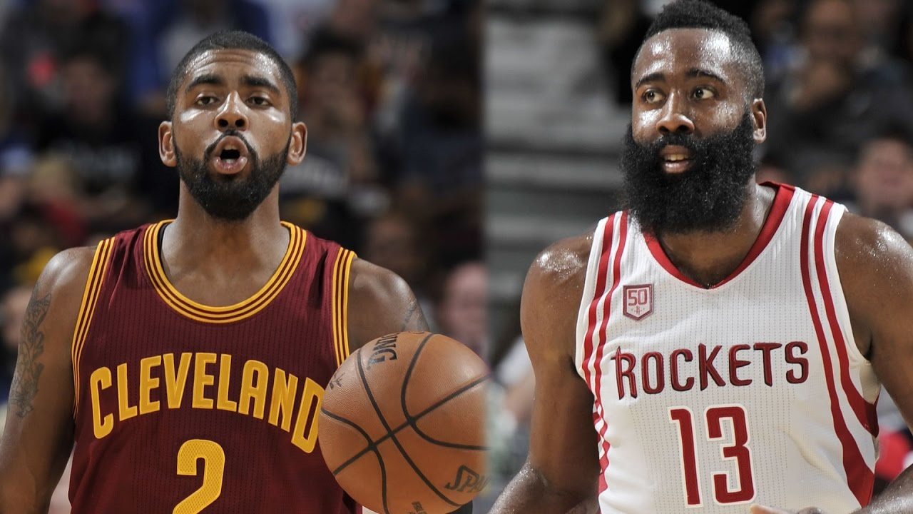 573cd155df0 James Harden and Kyrie Irving Duel in The Q - YouTube