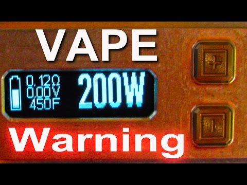 My opinion of Vaping at temperature control