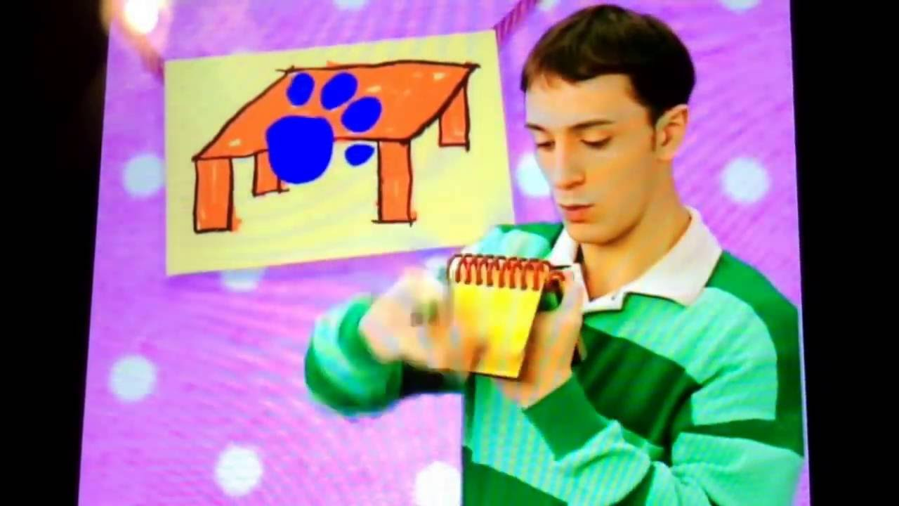 Blue's clues how to draw a table (signs) - YouTube