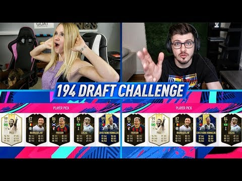 194 RATED FUT DRAFT CHALLENGE vs Mike Labelle!! FIFA 19 Ultimate Team