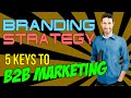 Branding Strategy - 5 Keys to B2B Marketing