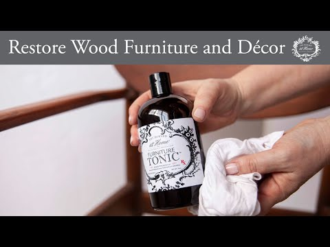 Restoring Wood Furniture and Leather Surfaces in Your Home