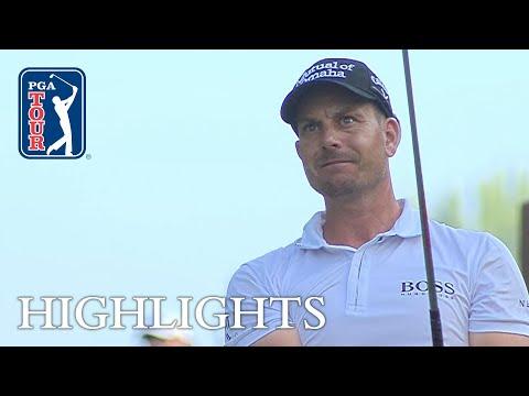 Henrik Stenson extended highlights | Round 2 | Wyndham