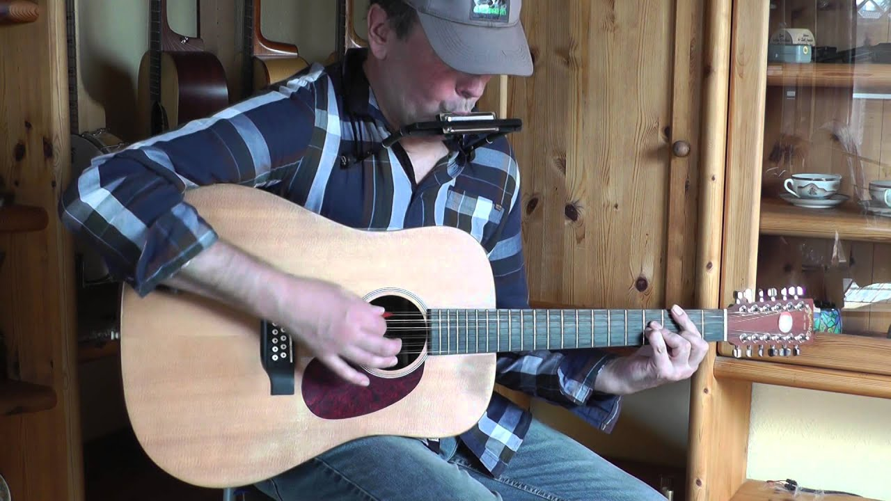 Easter Song Keith Green Cover 12 String Guitar Harmonica
