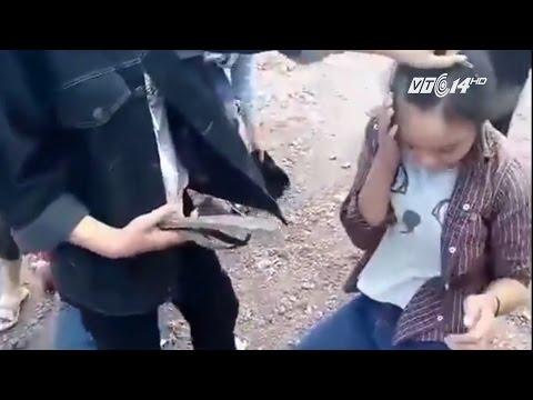 (VTC14)_Phẫn nộ với clip 2 nữ sinh ở Nghệ An bị đánh hội đồng