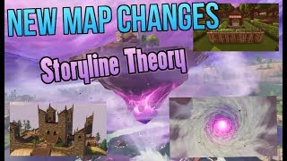 FORTNITE SEASON 6 ALL SECRET MAP CHANGES! New Halloween store, Wailing Woods Tunnels, and More