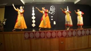 Kathak Rajasthani Tagore Performance 2013 - Winnipeg Canada