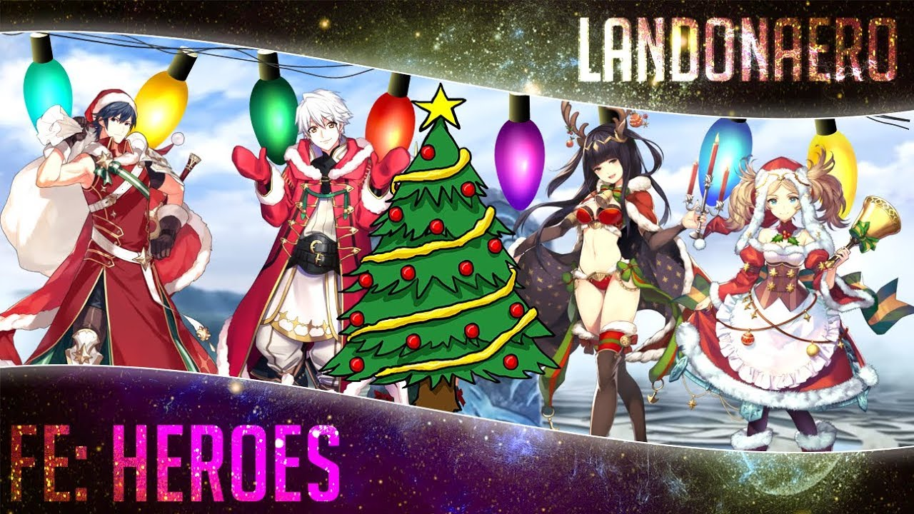Fe Heroes Christmas.Fire Emblem Heroes Christmas Banner Summoning Time