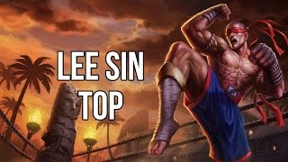 League of Legends - Muay Thai Lee Sin Top - Full Game Commentary